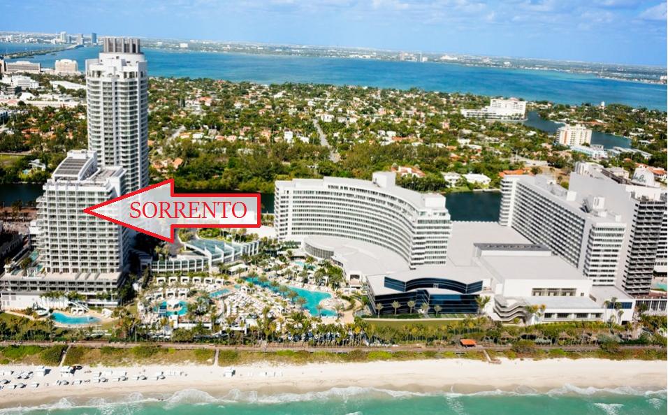 Sorrento Fontainebleau Hotel 4391 Collins Miami Beach